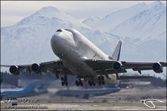 Boeing Dreamlifter 747-4H6/LCF N718BA PANC by James O'Rear acc1255 ...