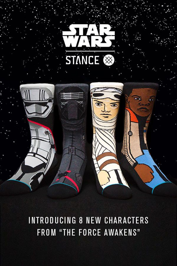 Stance has embraced its inner Jedi to deliver socks that any true Star Wars fan…