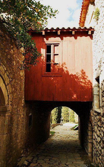 little road.. Karytaina village, Arcadia, Greece   Flickr - Thalia Nouarou Photography