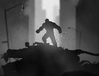 Oι σουπερ ήρωες των κόμικς της Marvel εμπνέουν τη δημιουργία ασπρόμαυρων posters με ανάλογη ατμόσφαιρα. Ο Batman, Iron Man, Spider Man , Captain America, Silver Surfer, Hulk, Weapon X απεικονίζονται σε σκοτεινές πόλεις με noir