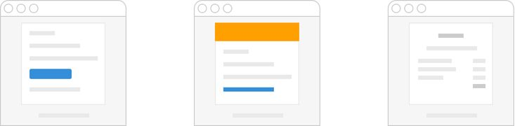 Responsive transactional HTML email templates