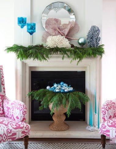 Ideas for Christmas Balls Decorations Coastal Christmas Decor