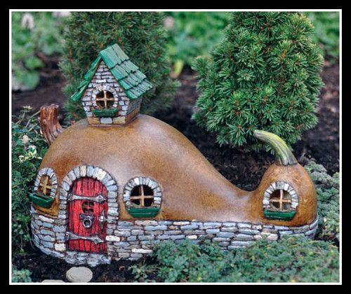 mini fairy gourd house