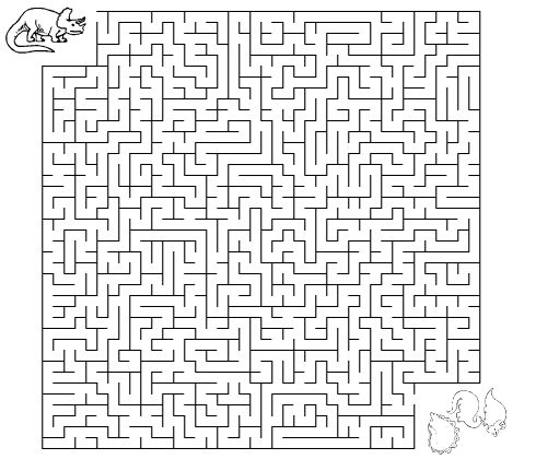 Dinosaur Maze Worksheet Dinosaurs Pinterest Maze