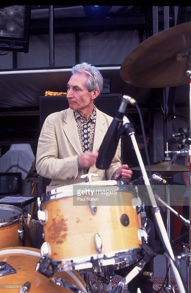 Photo d'actualité : British musician Charlie Watts of the Rolling...