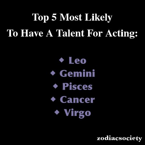 Zodiac Signs: Top 5 Most Likely To Have A Talent For Acting: @Misha Parekh @Raenhha Dhami All dramebaaz people I hang out with