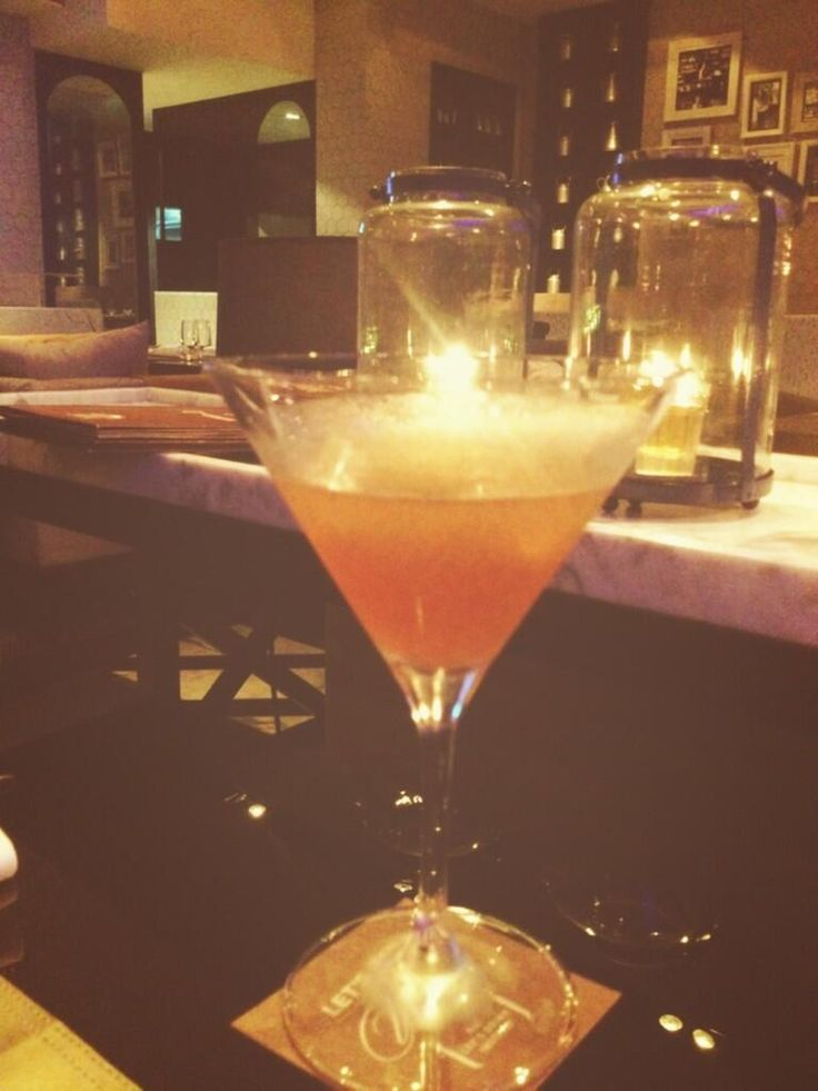 Blood Orange #Martini! #LandSMumbai #LandSMenu Picture Courtesy : Shormistha Mukherjee