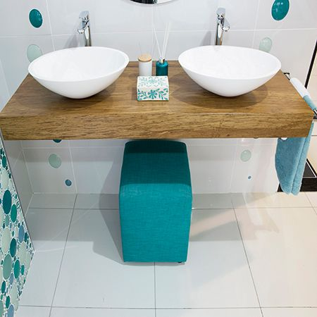 With the holiday season fast approaching, for some this means welcoming family and friends into the home. The guest bathroom is generally smaller than the family bathroom and often  overlooked when it comes to decorating but there are a few tips you can use to update any bathroom. http://www.easydiy.co.za/index.php/improve/544-guest-bathroom-facelift