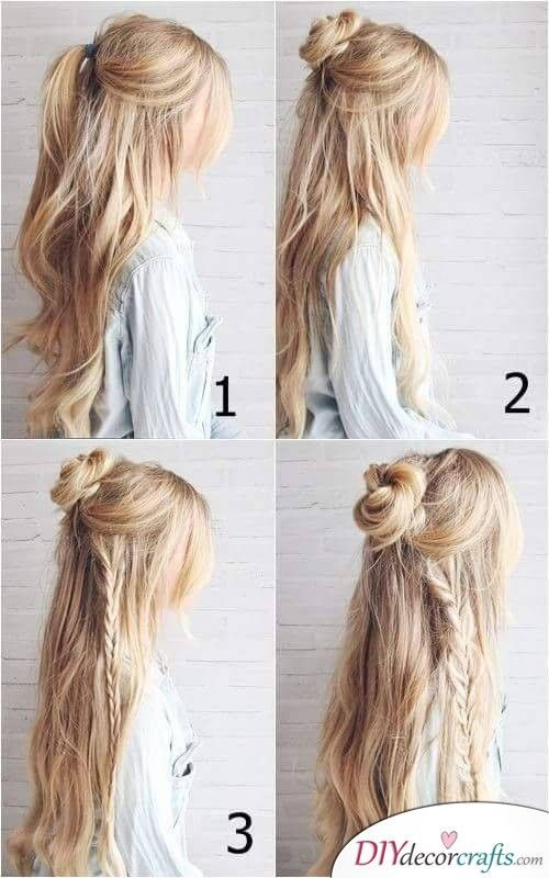 Bohemian or Hippie Style – Easy Braids for Long Hair – #Bohemian #Braids #Easy #…