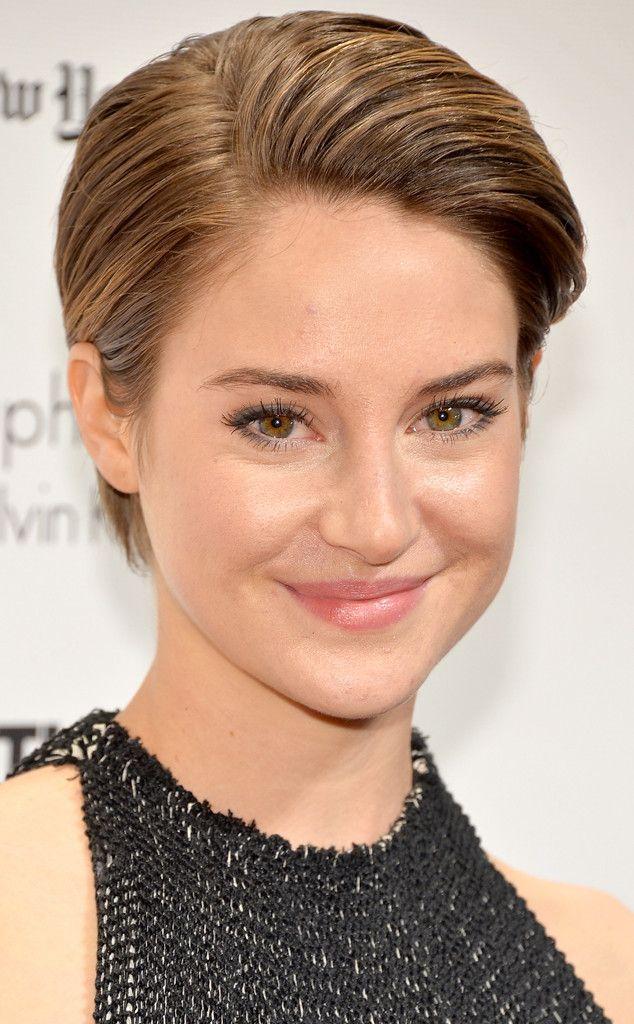 shailene woodley short hair | Shailene Woodley Talks Hollywood's Obsession with Short Hair—Watch ...