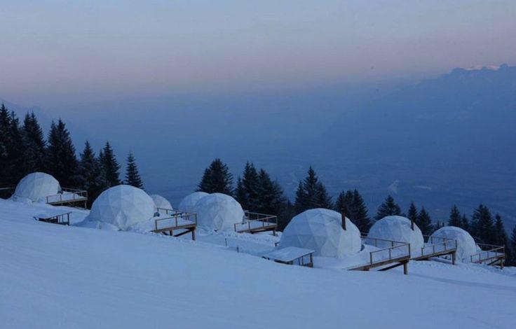 Le Whitepod en Suisse - Hôtel insolite - Unique Hotel Experience