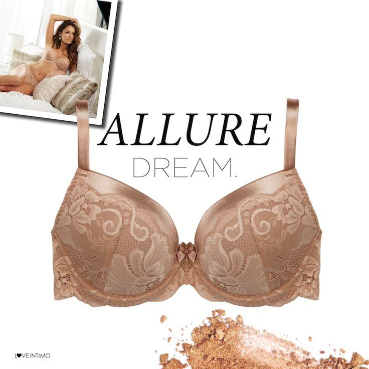 Perfect for wear under white, the Allure Dream Bra in Honey will become your ultimate wardrobe companion: https://www.intimo.com.au/shop/item/dream-bra-04