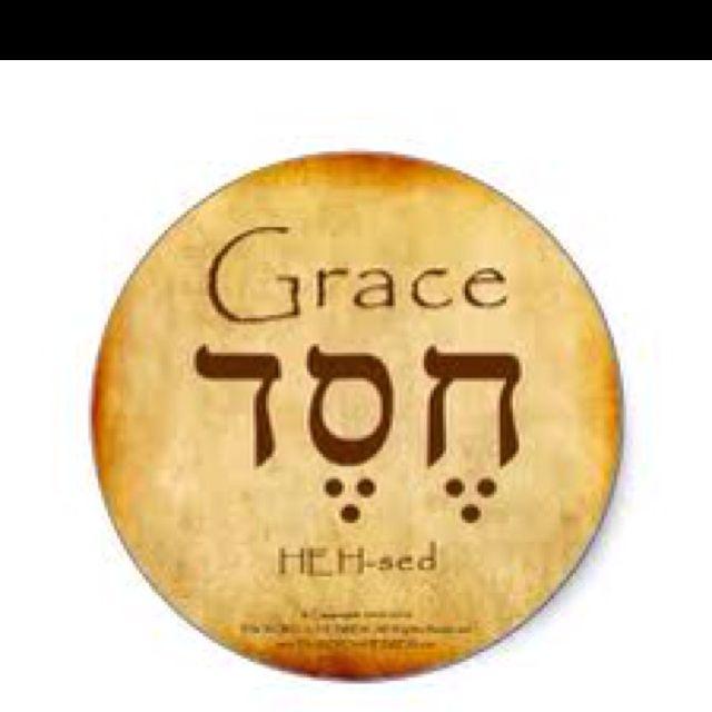 "Oftentimes translated ""loving kindness"" or ""steadfast love."" Yet my Hebrew teacher preferred ""Grace."""
