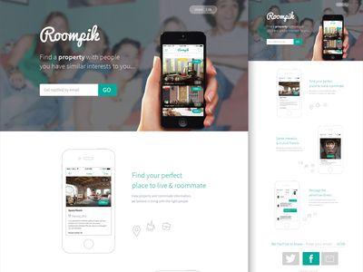 Roompik Landing Page