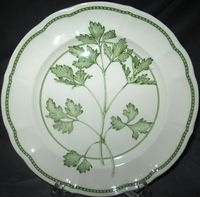 Richard Ginori Parsley Salad Plate