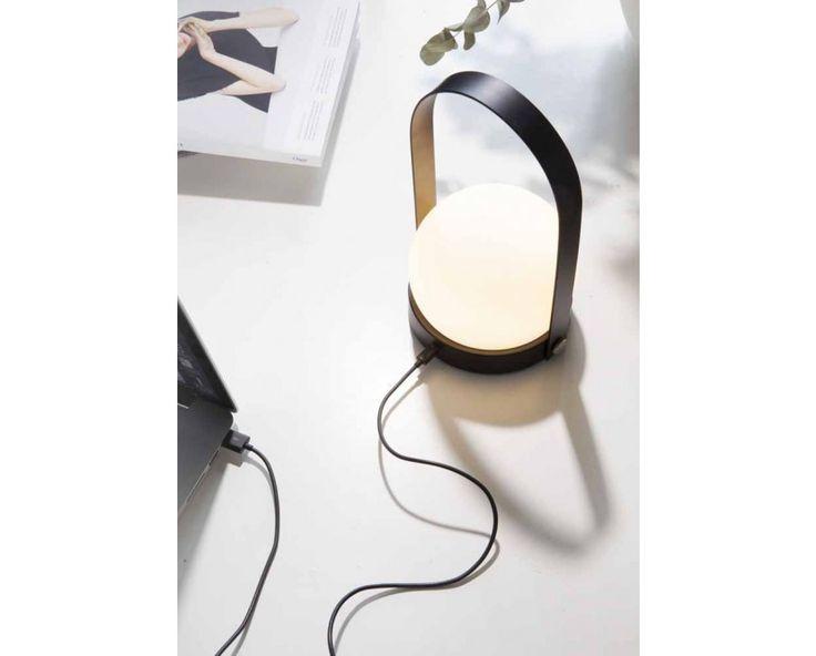 Carrie LED Tischleuchte - schwarz