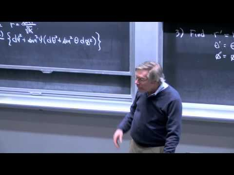 12. Non-Euclidean Spaces: Open Universes and the Spacetime Metric - YouTube