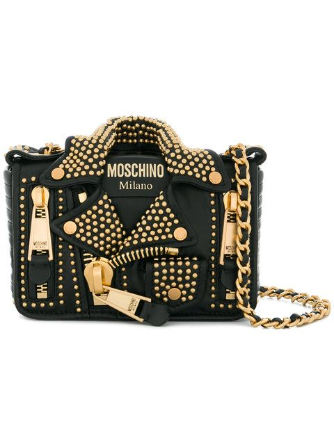 acf578e62e Shop Moschino small biker shoulder bag.   Accessorize Me!   Bags ...
