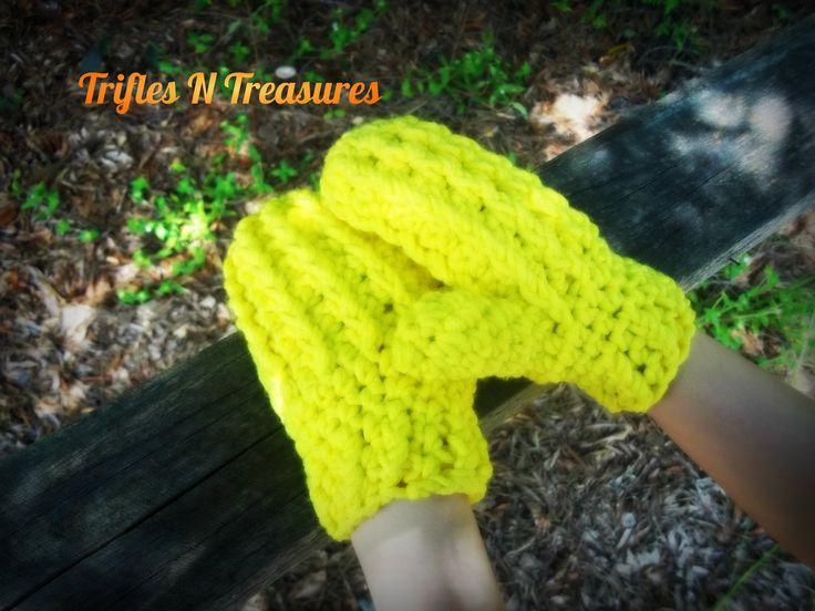 Free Crochet Mitten Patterns for Children