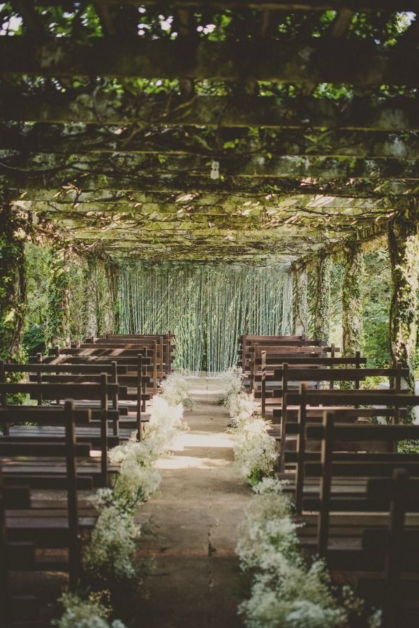 You'll never guess where this stunning destination wedding took place! Photo: Twig & Olive Photography via Bajan Wed