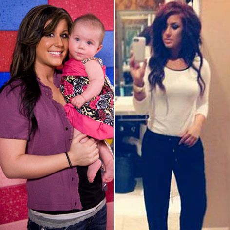 Hot Mama! Tiny 'Teen Mom 2' Star Chelsea Houska Shed Pounds with Kickboxing, Juicing | Radar Online