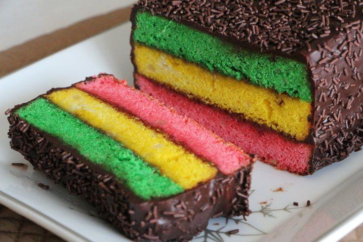 Rainbow Cake Recipe Italian: Best 25+ Rainbow Cookie Ideas On Pinterest