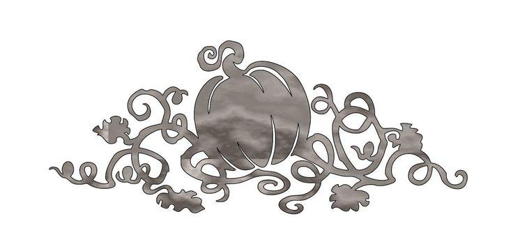Pumpkin Vine - Plasma Cut Metal Shape FAL160-M