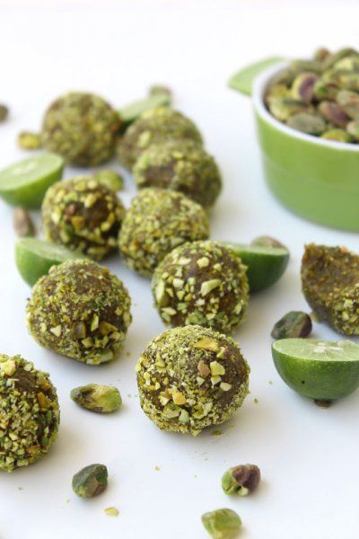 Raw Key Lime Pistachio Bites and other interesting reads from The Healthy Maven.