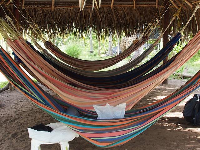 Hamacas en Palomino, Guajira, Colombia, un estilo de vida P6012829 by Vagamundos.net/Carlos Olmo, via Flickr