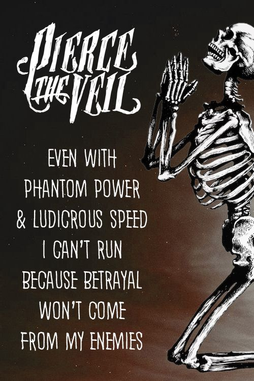 Pierce The Veil- Phantom Power And Ludicrous Speed