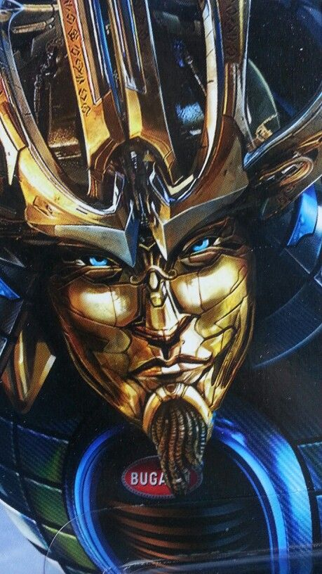 Autobot Drift from Transformers Age Of Extinction. O,O wicked art skills, so awesome.
