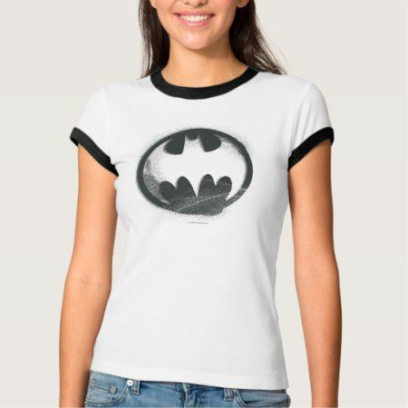 Batman Symbol | Spray Symbol Logo T-Shirt - click to get yours right now!
