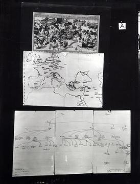 Aby M. Warburg «Mnemosyne-Atlas»   Mnemosyne-Atlas, Board A