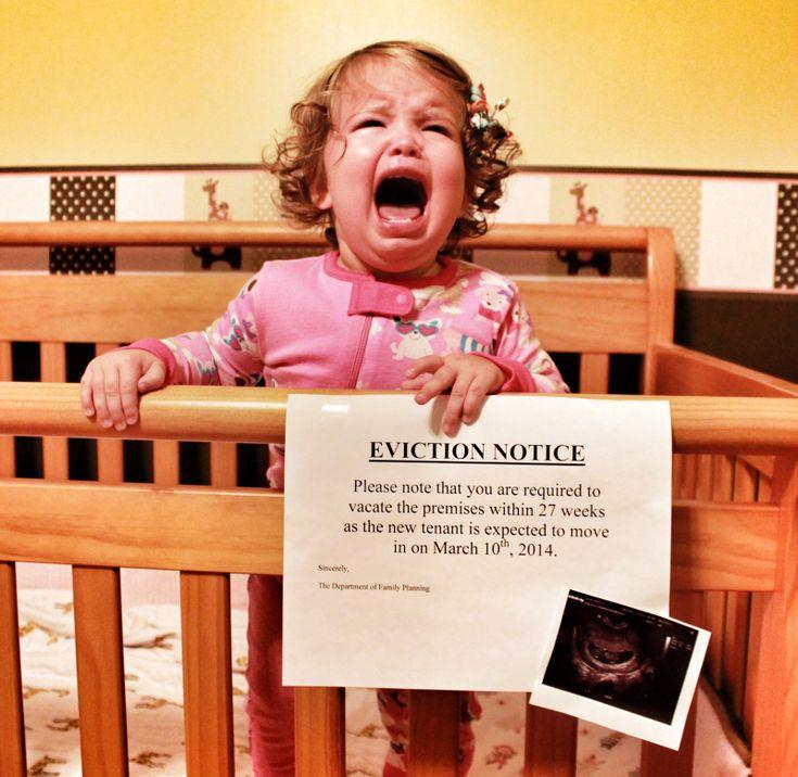 Funniest pregnancy announcement EVER!!