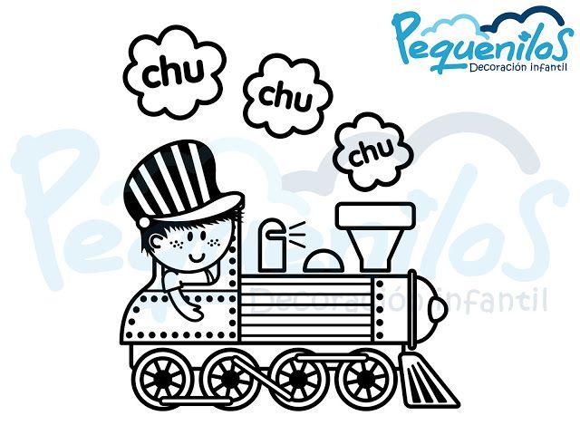 Pequenilos: Niño viajando en tren