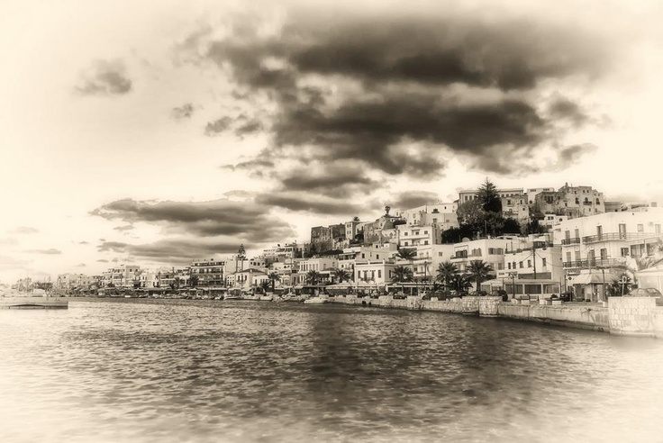 Greece: for once, cloudy...