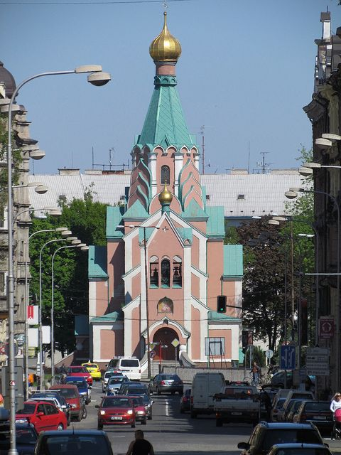 Orthodox church in Olomouc, Czechia