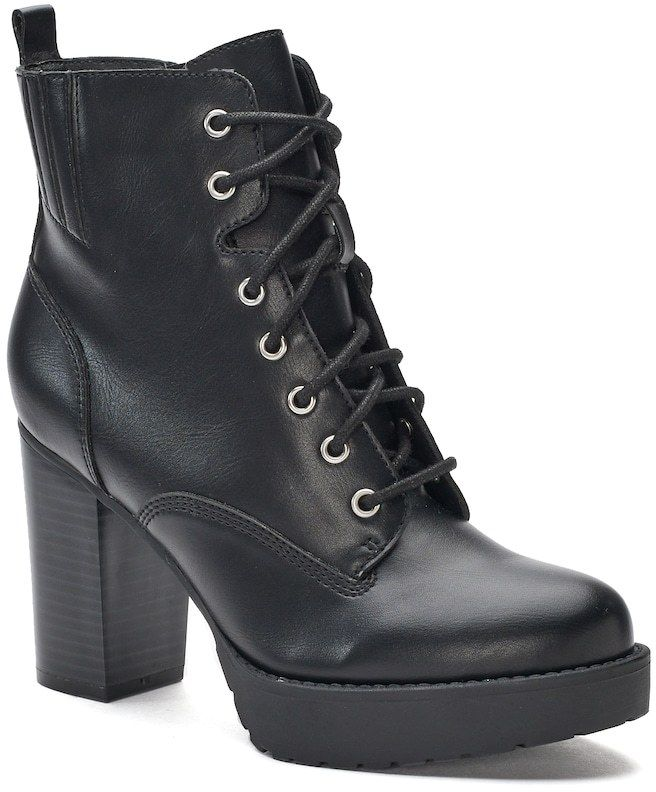 25+ cute High heel combat boots ideas on Pinterest ...