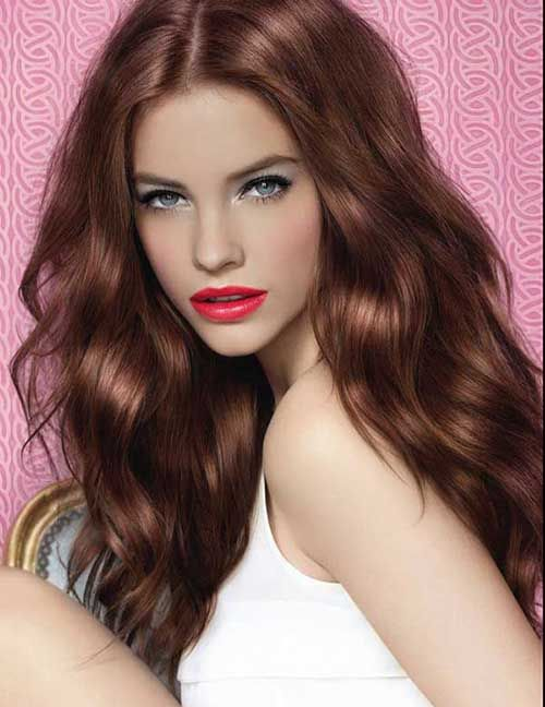 Chestnut hair colors are one of the most sought after hair colors, from brown to very dark brown chestnut hair colors are available online or in stores.
