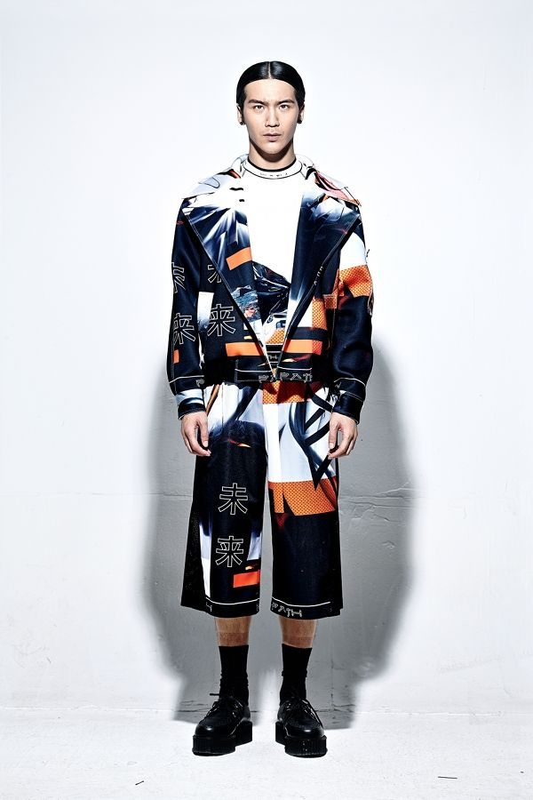 Neoprene Printed Jacket   PATH   NOT JUST A LABEL