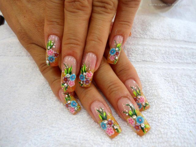 12 best acrílicas images on Pinterest | Nail scissors, Nail art ...
