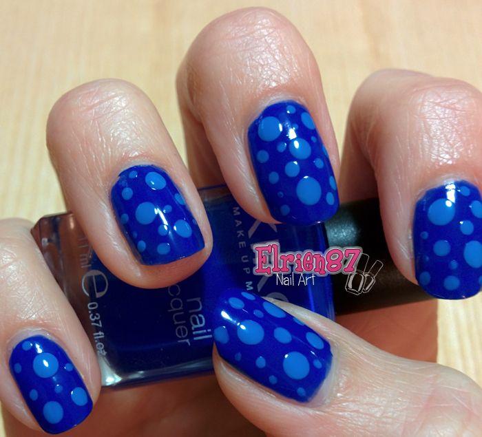 http://www.beautytester.it/tag/swatches-smalto Oggi vi mostro una nail art semplicissima da realizzare, ma sempre di grande effetto! Io mi sono lasciata ispirare dai colori del mare, ma