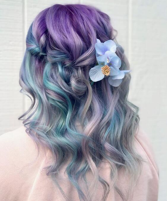 52 Ombre Rainbow Hair Colors To Try 2: 40+ Cool Pastel Hair Colors In Every Shade Of Rainbow