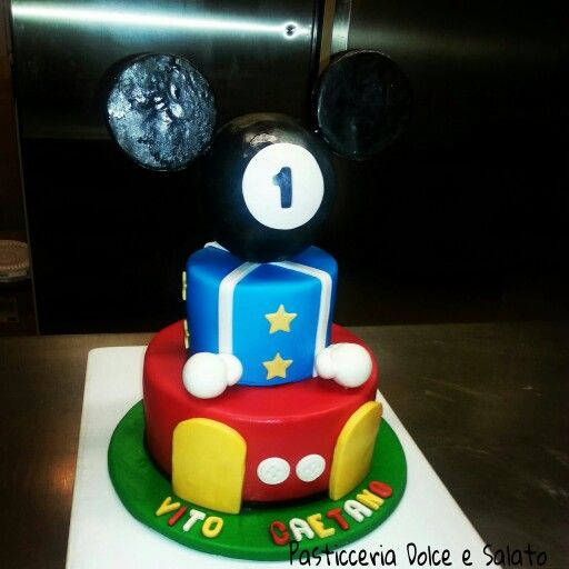 Mickey Mouse Cake...