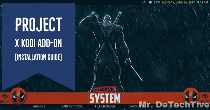 How to Install Project X Kodi Addon [GUIDE]