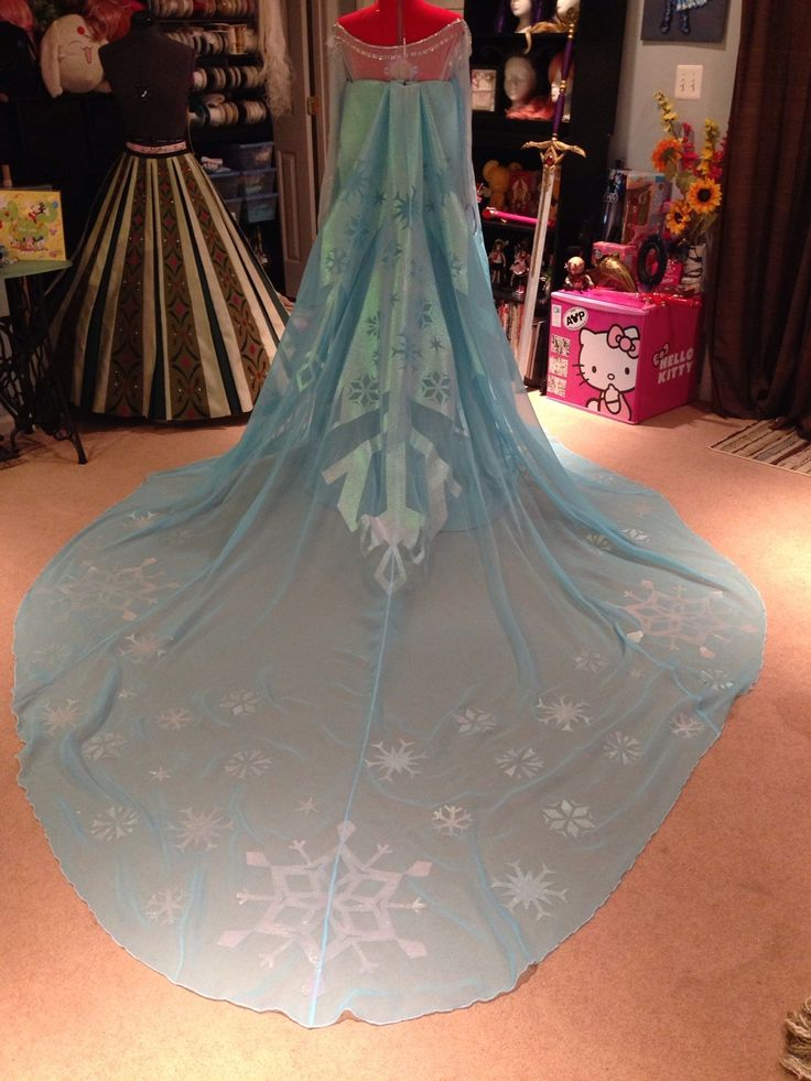 Elsa cape how to