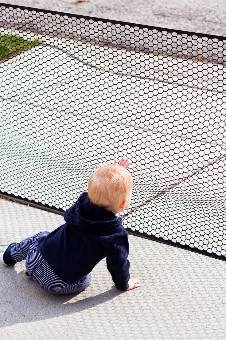 For my friends with kids; this is simple and awesome! DIY fence for the end of driveway. You put it up as needed it is simple and cheap.