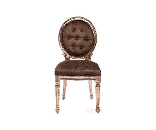Louis Krzesło Brązowe Miedź - 1