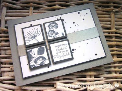 stampin with fanny: MtS #92: Eine Trauerkarte in Grautönen