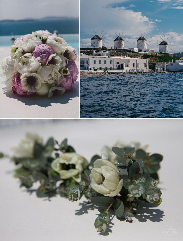 Mykonos private villa  Wedding